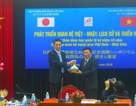 Quan hệ Việt Nam-Nhật Bản tiếp tục phát triển sâu rộng