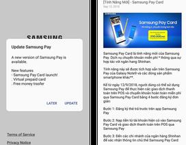 Hướng dẫn chuyển khoản ngân hàng miễn phí với Samsung Pay