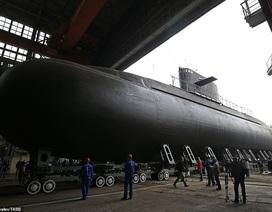"""Nga hạ thủy tàu ngầm tàng hình """"bóng ma trên biển"""""""