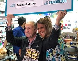 Ông lão chơi xổ số cả đời mới trúng độc đắc 233 tỷ đồng