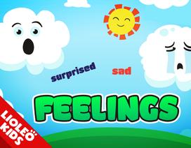 Tiếng Anh trẻ em: Cách diễn đạt cảm xúc cực dễ hiểu