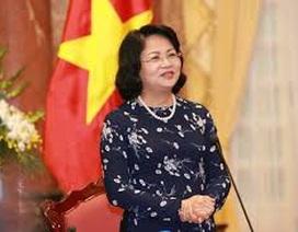 Thực hiện quyền Chủ tịch nước với bà Đặng Thị Ngọc Thịnh