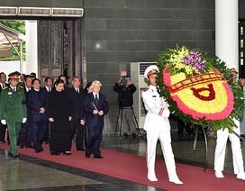 Tổng Bí thư làm Trưởng ban lễ tang Chủ tịch nước Trần Đại Quang