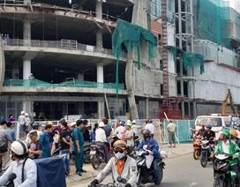 """Nguyên nhân vụ tai nạn khiến 3 công nhân trọng thương tại công trình """"đại siêu thị"""""""