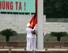 Hà Nội treo cờ rủ ngày Quốc tang Chủ tịch nước Trần Đại Quang