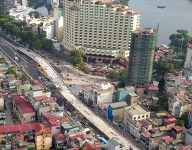 Hà Nội: Toàn cảnh dự án cầu vượt An Dương sau hơn một năm thi công
