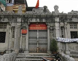 Lăng mộ đá hiếm có, lớn nhất ở Thủ đô
