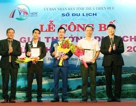 Trao giải thưởng du lịch tỉnh Thừa Thiên Huế