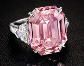 Chiêm ngưỡng viên kim cương hồng 19 cara giá 1,2 nghìn tỷ đồng