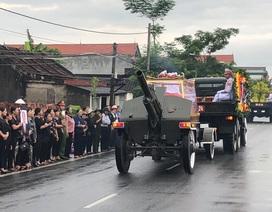Linh cữu Chủ tịch nước Trần Đại Quang đã về quê nhà Ninh Bình