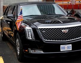 """""""Lá chắn thép"""" bảo vệ Tổng thống Trump tại kỳ họp Liên Hợp Quốc"""