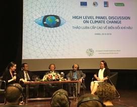EU, LHQ cam kết hỗ trợ Việt Nam trong cuộc chiến chống biến đổi khí hậu