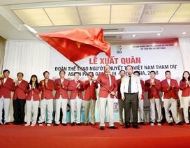 Thể thao người khuyết tật Việt Nam đặt chỉ tiêu 9 HCV Asian Para Games 2018