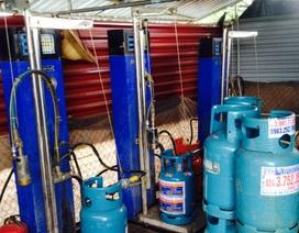 Triệt xóa xưởng sang chiết gas trái phép có camera giám sát