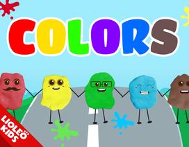 Tiếng Anh trẻ em: Học về màu sắc qua đất nặn ma thuật