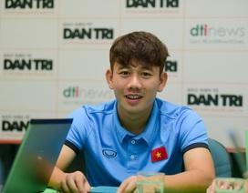 """Minh Vương: """"Toàn đội Olympic Việt Nam đã rơi nước mắt sau trận thua UAE"""""""