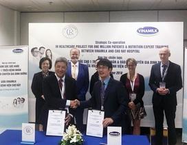 Vinamilk - Bệnh viện Chợ Rẫy ký kết hợp tác chiến lược nâng tầm quốc tế