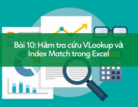 Học tin học Excel: Tìm hiểu về nhóm hàm tra cứu