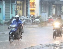 Không khí lạnh tăng cường, miền Trung có nơi mưa rất to