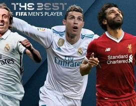 Messi bị gạch tên khỏi danh sách rút gọn giải Cầu thủ xuất sắc nhất FIFA