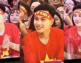 """""""Hot boy"""" trên sân Mỹ Đình được dân mạng rần rần tìm kiếm"""