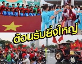 Báo Thái Lan tủi thân khi chứng kiến thành công của Olympic Việt Nam
