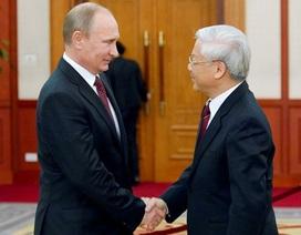 Tổng thống Putin sẽ hội đàm Tổng Bí thư Nguyễn Phú Trọng tại Sochi