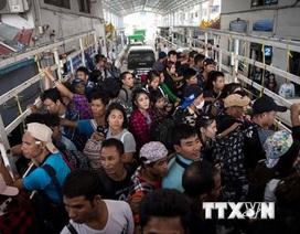 Lao động Việt Nam bất hợp pháp tại Thái Lan sẽ phải trở về nước