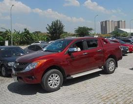 Ô tô bán tải tăng giá khủng vì thuế, phí