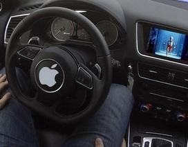 Xe tự lái bí mật của Apple gặp tai nạn trên đường thử nghiệm