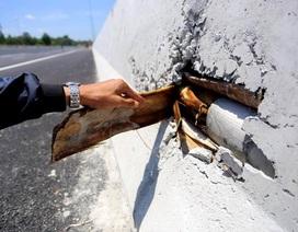"""Chủ đầu tư lý giải """"bê tông cốt chuối"""" trong dải phân cách cao tốc Đà Nẵng - Quảng Ngãi"""