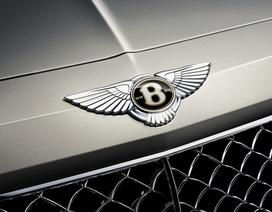Bentley ra logo đặc biệt Centenary Gold mừng sinh nhật 100 tuổi
