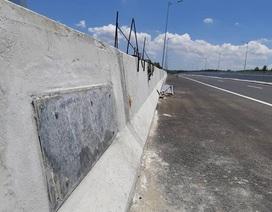 """Sự thật """"bê tông cốt chuối"""" trên cao tốc Đà Nẵng - Quảng Ngãi"""