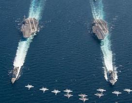Mỹ điều các tàu sân bay chủ lực tập trận, gửi thông điệp tới Nga, Trung Quốc