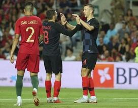 Perisic ghi bàn, Croatia bất phân thắng bại với Bồ Đào Nha