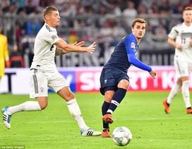 Đức 0-0 Pháp: Bất phân thắng bại