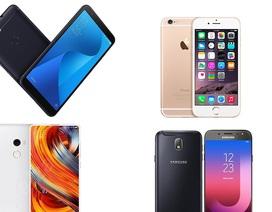 Loạt smartphone giảm giá đầu tháng 9/2018