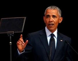 Sự trở lại của ông Barack Obama