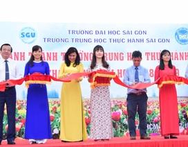 TPHCM: Trường trung học 60 năm tuổi khánh thành cơ sở mới trị giá 90 tỷ đồng