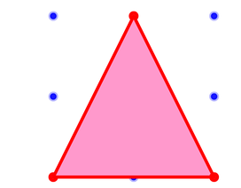 """Toán tương tác: Bài dựng hình tam giác có thể khiến bạn """"hoa mắt"""""""