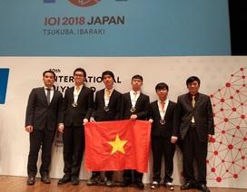 Học sinh Việt Nam đoạt Huy chương Vàng Olympic Tin học quốc tế