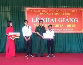 Bộ đội biên phòng trích lương nuôi chữ cho học trò nghèo vùng biên