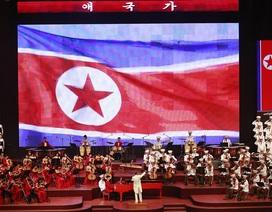 Triều Tiên tổ chức hòa nhạc đặc biệt mừng Quốc khánh