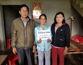 Hơn 27 triệu đồng đến với gia đình bà Hà Thị Phượng