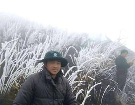 Băng tuyết xuất hiện tại vùng cao của Lào Cai