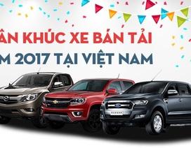 Thị trường ôtô Việt Nam năm 2017: Xe bán tải nào bán nhiều nhất?