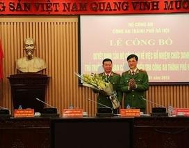 Bổ nhiệm Thủ trưởng Cơ quan Cảnh sát điều tra Công an Hà Nội