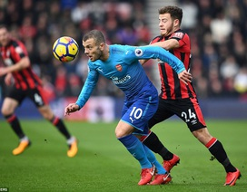 Bournemouth 2-1 Arsenal: Trái đắng cho Wenger