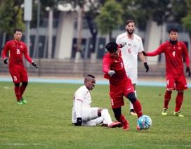 """Công Phượng """"tịt ngòi"""", U23 Việt Nam hòa U23 Palestine"""