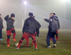 U23 Việt Nam khốn khổ vì sân tập trước trận gặp U23 Syria